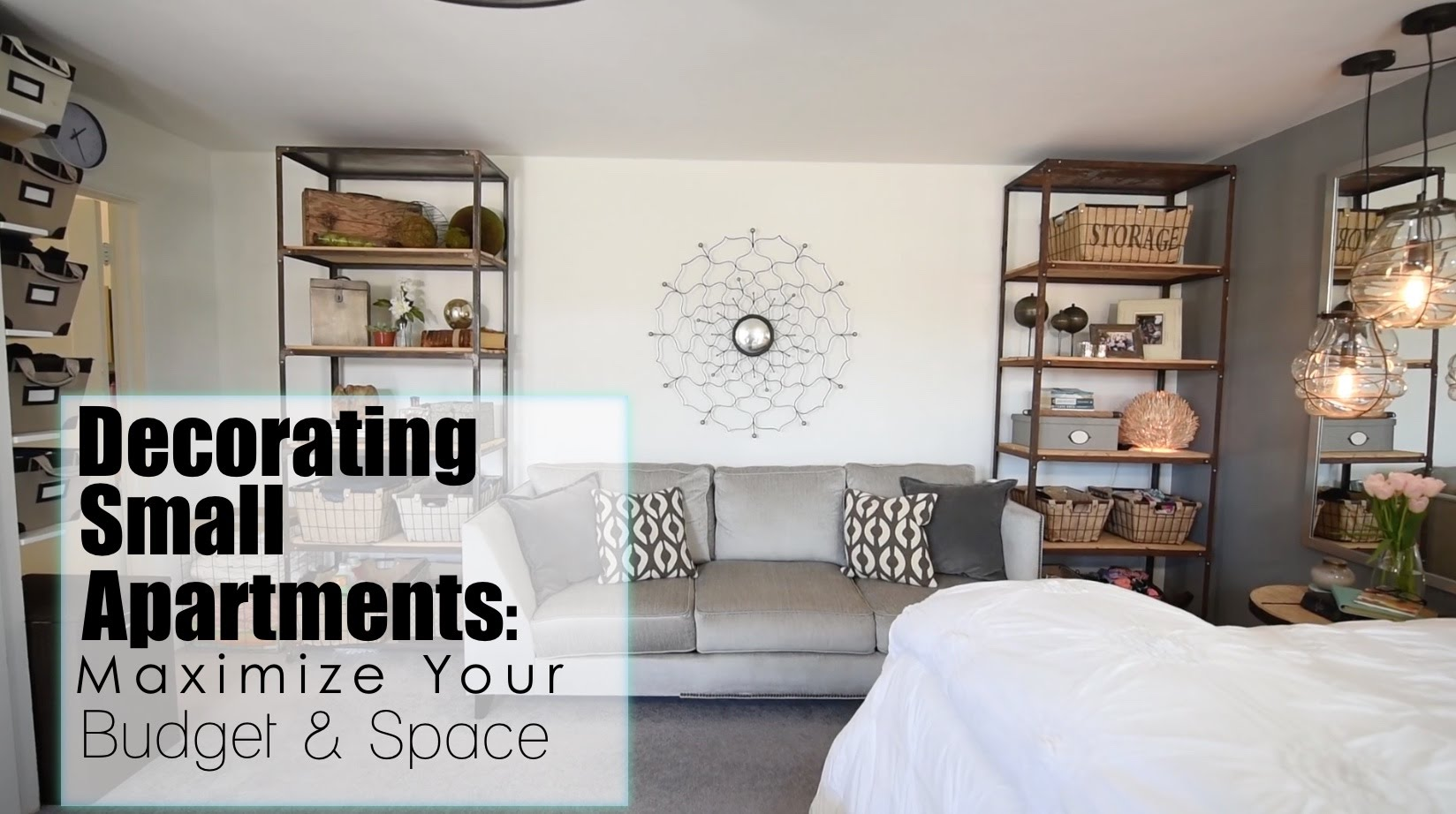 Maximize your space budget in small apartments interior design best home design video - Interior design on a budget ...