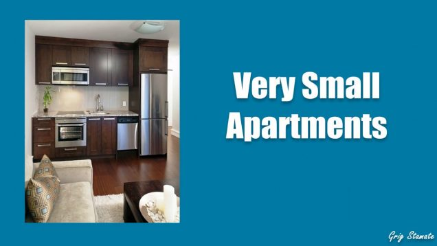 Very small apartments interior design