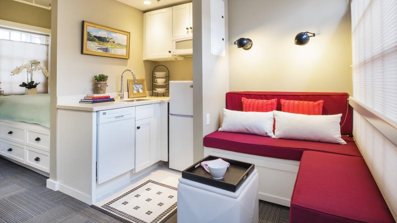 Tiny Apartment #5 | BEST Interior Decorating | Small Spaces ...