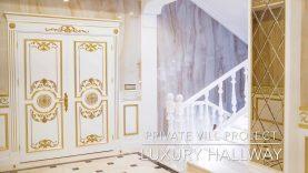 Villa Interior Design. Home Decoration.Hallway decor, kitchen design ...