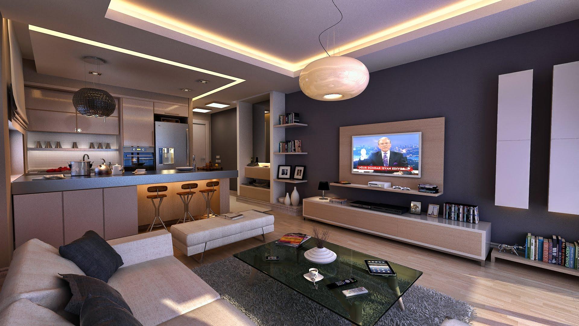 Apartment Living Room Interior Design Ideas Best Home Design Video