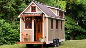The Ynez from Timbercraft Tiny Homes | Tiny House Design
