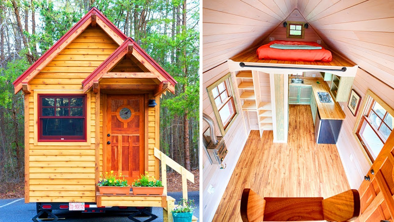 Awesome Weller Tiny House From Wishbone Tiny Homes Tiny House Design Ideas Best Home Design Video