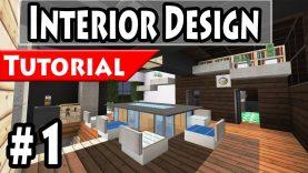 Minecraft Modern House Interior Design Tutorial Part 1 1 8 How To Make Best Home Design Video