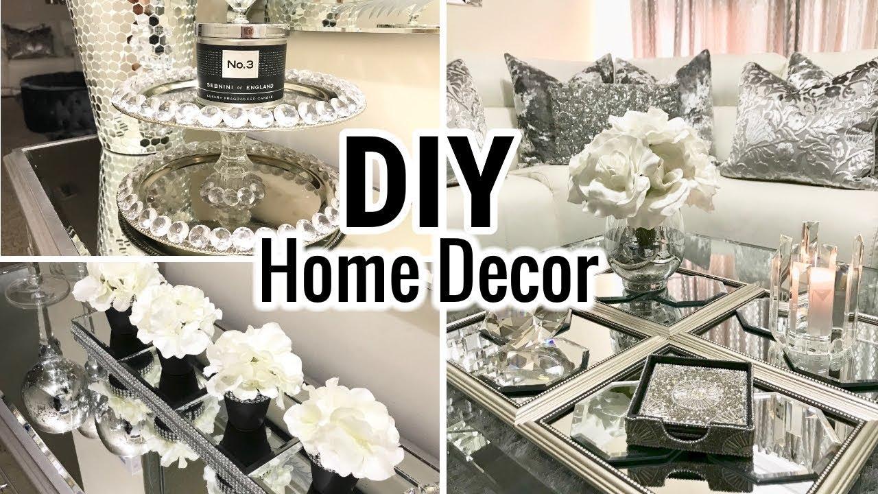 Diy Home Decor Ideas 2018 Dollar Tree Diy Mirror Decor