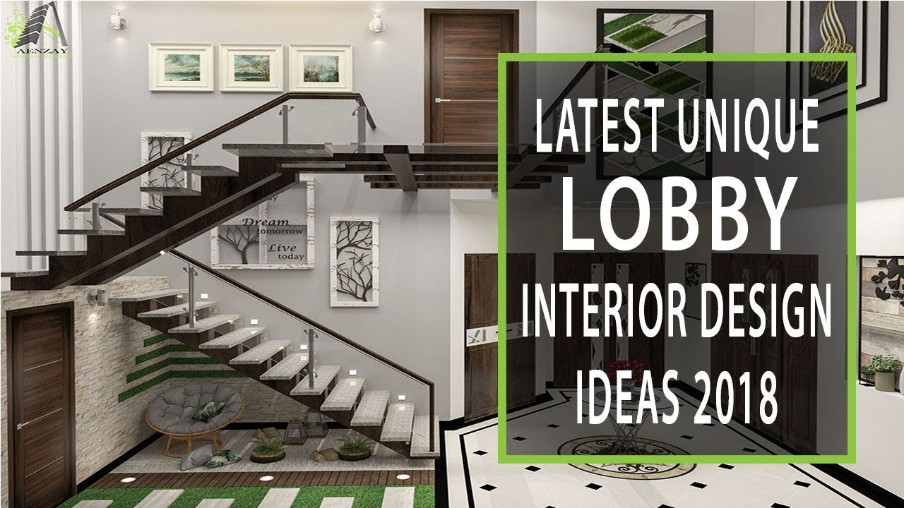 Interior Design Ideas At Home: Modern Lobby Interior Design Ideas 2018