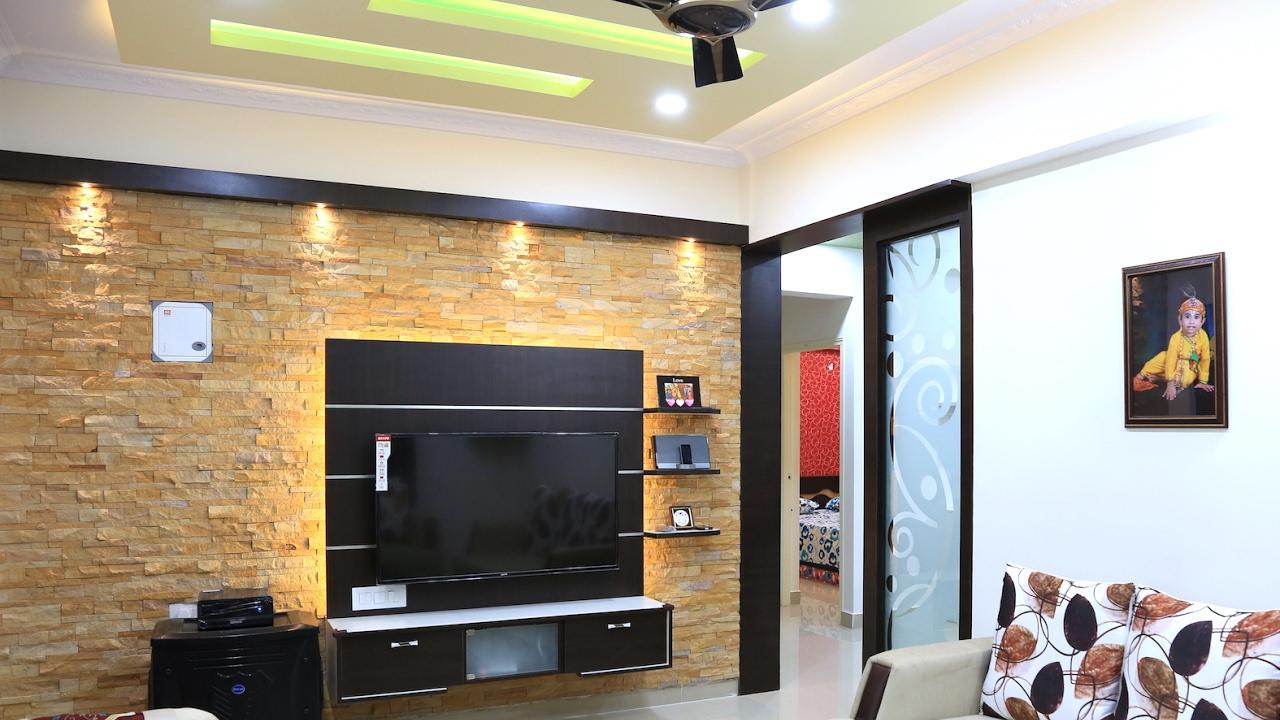 Walkthrough Of Mr Arun 2 Bhk House Interior Design Lvs