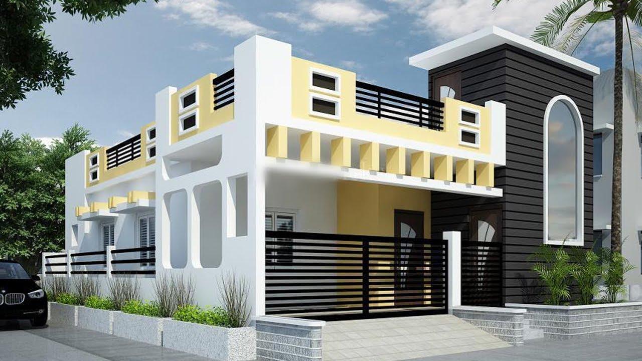 Front Elevation Designs Single Floor India