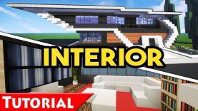 Minecraft Modern House Interior Design Tutorial How To Make Modern House 6 1 9 Best Home Design Video