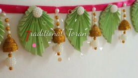 Diy Trendy Toran Door Hangings With