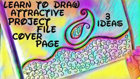 Project File Cover Decoration Ideas 3