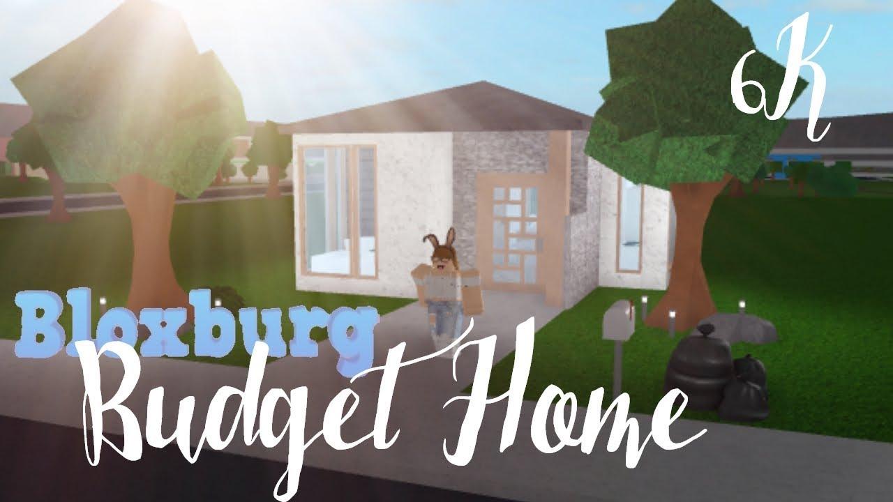 Bloxburg Cute Budget House 6k Best Home Design Video