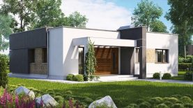 86 m²) A Compact Modern Two Bedroom House With Large Kitchen ...