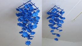 Paper Flower Wall Hanging 2 Diy Hanging Flower Wall Decoration Ideas Best Home Design Video