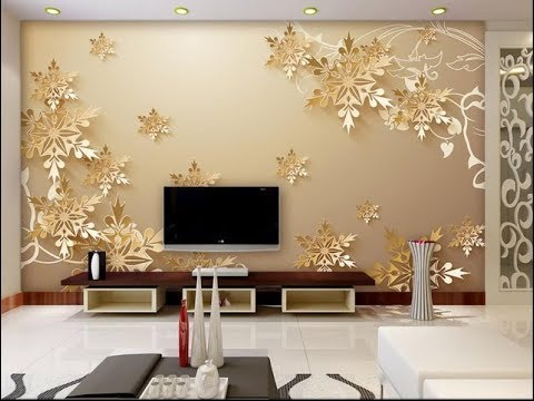 Wallpaper Design For Living Room Home Decoration Ideas