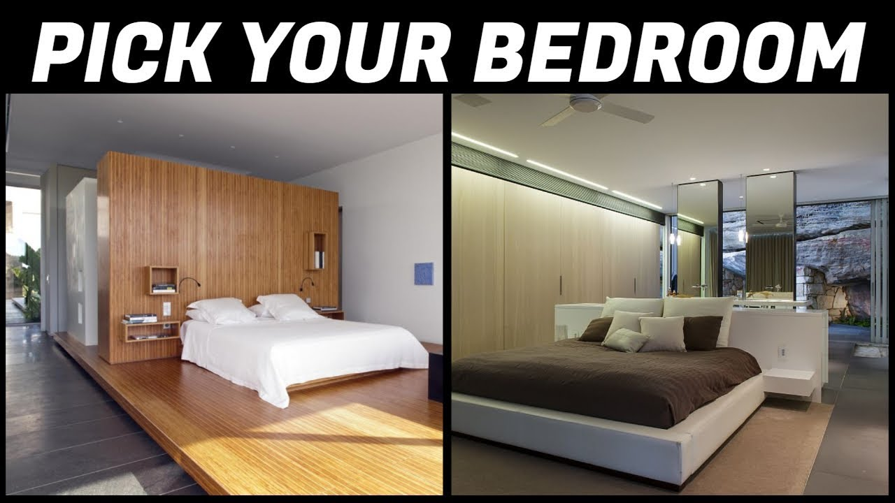 What bedroom design suits your personality? Interior design
