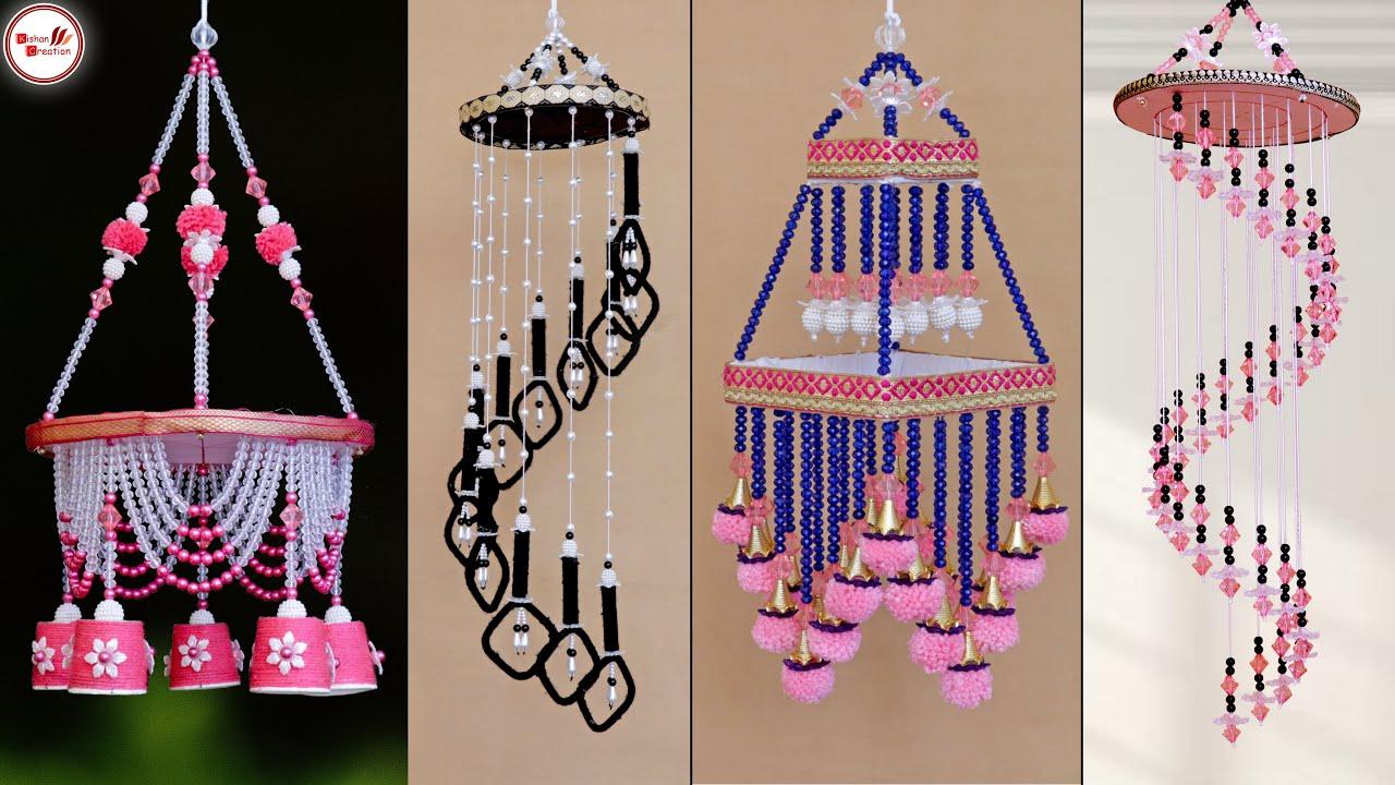 Extra Look !!! Jhumar Design for Home || Handmade Home ...