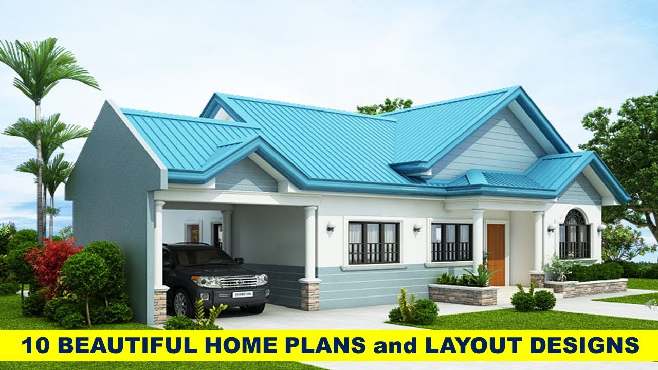Layout Design For 10 Beautiful Houses